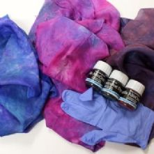 Very Easy Silk Scarf Kit Available in 7 Colours